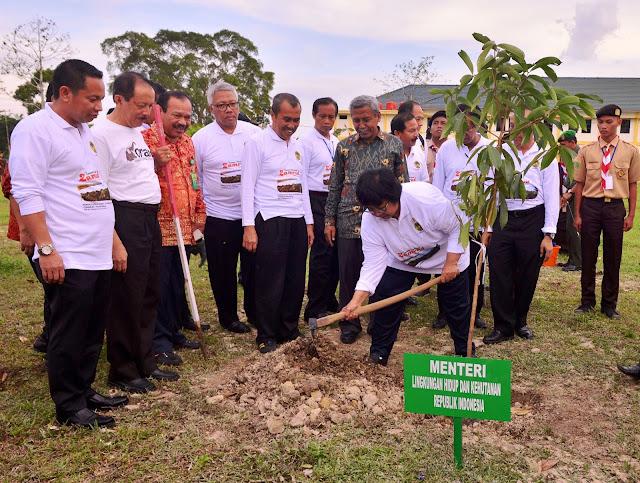 Menteri Lingkungan Hidup dan Kehutanan canangkan Siak Hijau