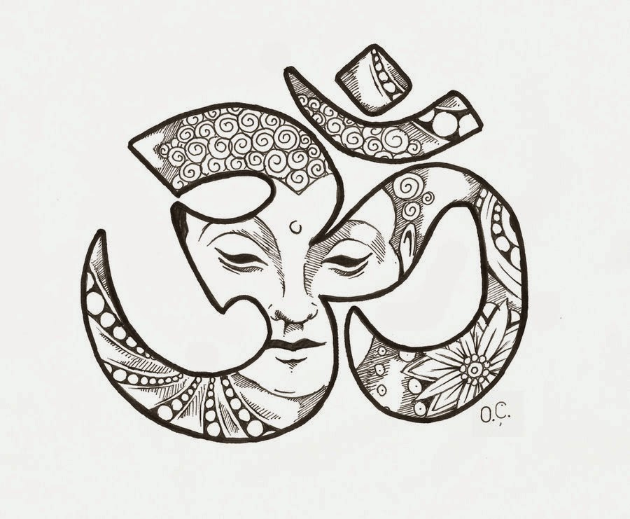 43 Tatuagens Simbolo Om Ii Mais Tattoo