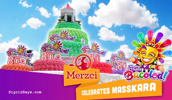 Merzci Pasalubong Masskara Festival - MassKara Photo Wall - Bacolod Tourism Strip - Bacolod City - Bacolod tourism - Electric MassKara - BREDCO port - MassKara Queen candidates - MassKara Queen pageant - Miss Bacolod - Merzci tourist bus - birthday cakes