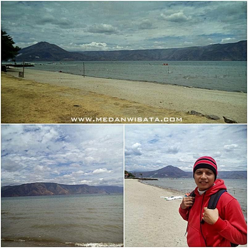 Objek Wisata Pantai Pasir Putih Parbaba Samosir