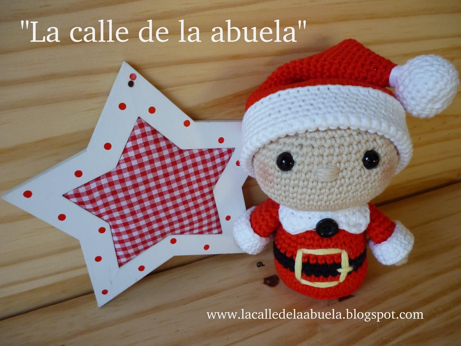 Papá Noel amigurumi - Patrones gratis | 1200x1600