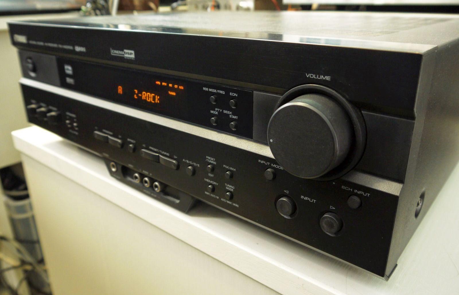 yamaha rx v420rds av receiver audiobaza. Black Bedroom Furniture Sets. Home Design Ideas