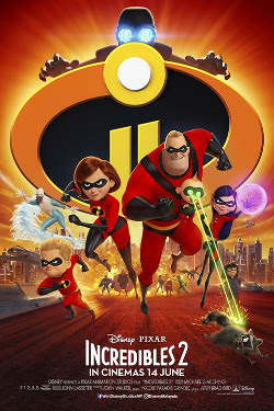 Review Dan Trivia Filem Superhero; Incredibles 2