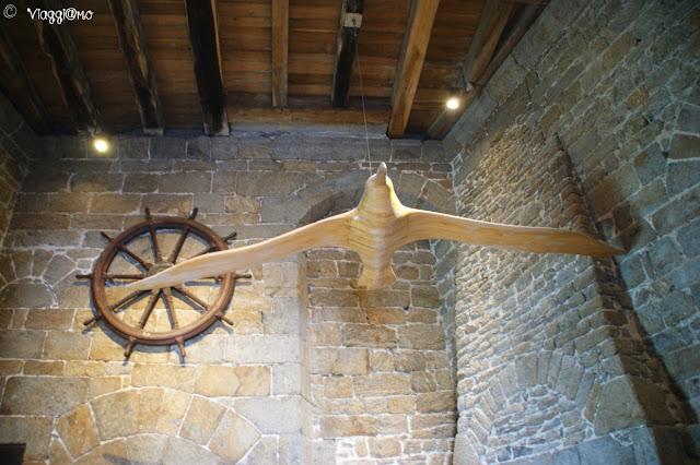 Interno del Museo di Navigazione di lungo corso nella Tour Solidor