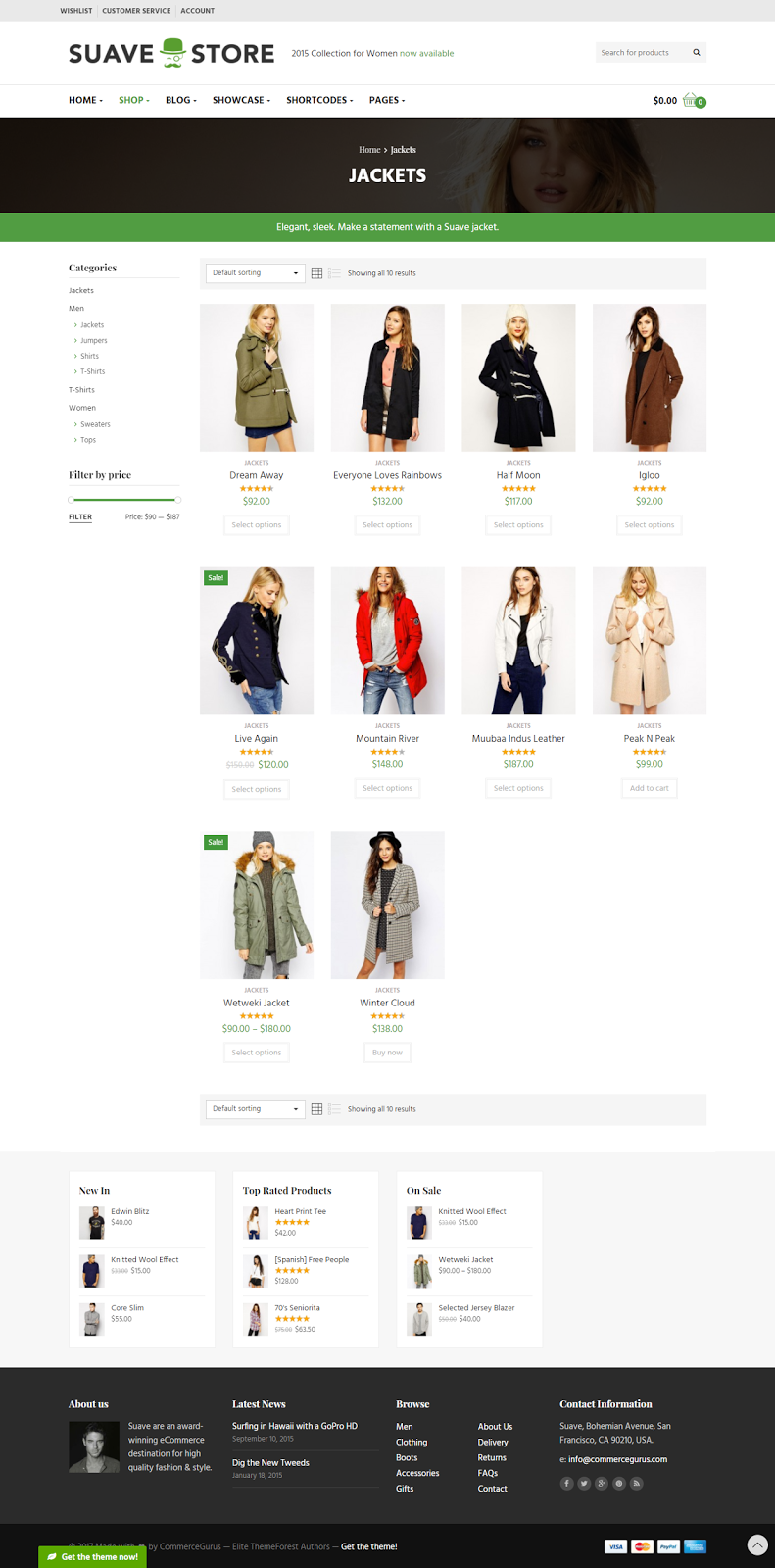 Responsive Shopping