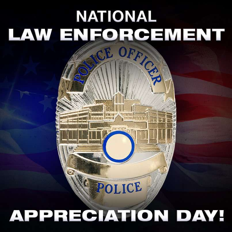 National Law Enforcement Appreciation Day Wishes Beautiful Image