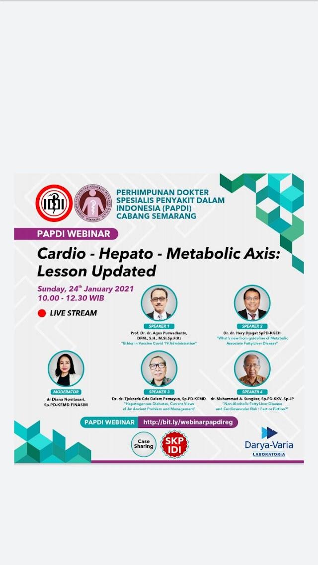 "Free SKP IDI - PAPDI WEBINAR ""Cardio-Hepato-Metabolic Axis: Lesson Updated"""