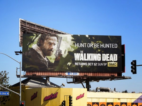 Walking Dead season 5 amc billboard