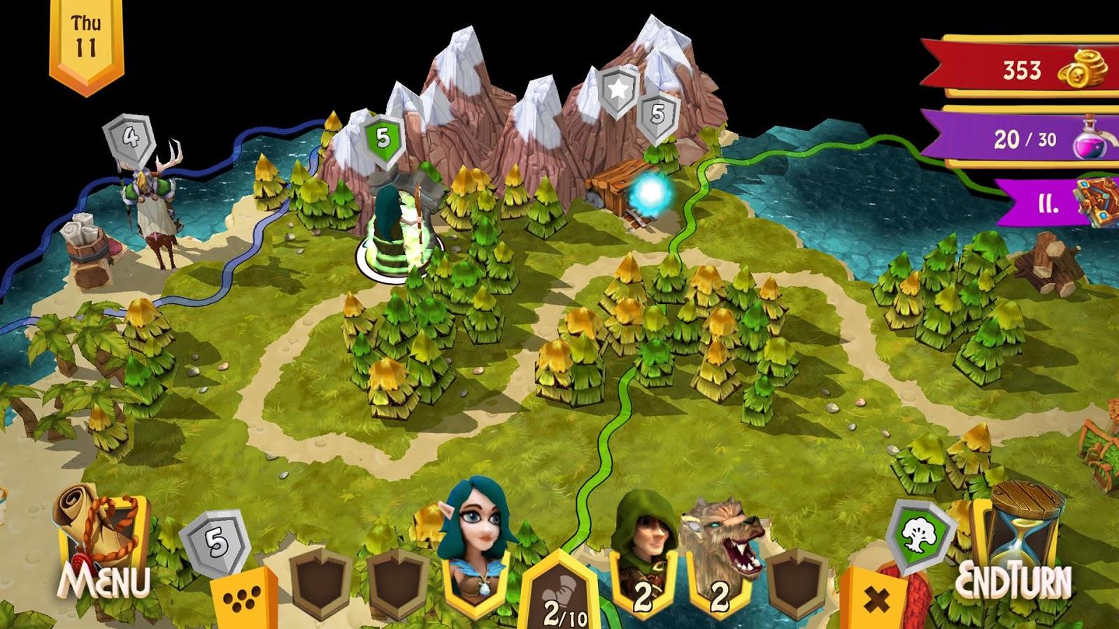Heroes of Flatlandia v1.2.3 Para Hileli