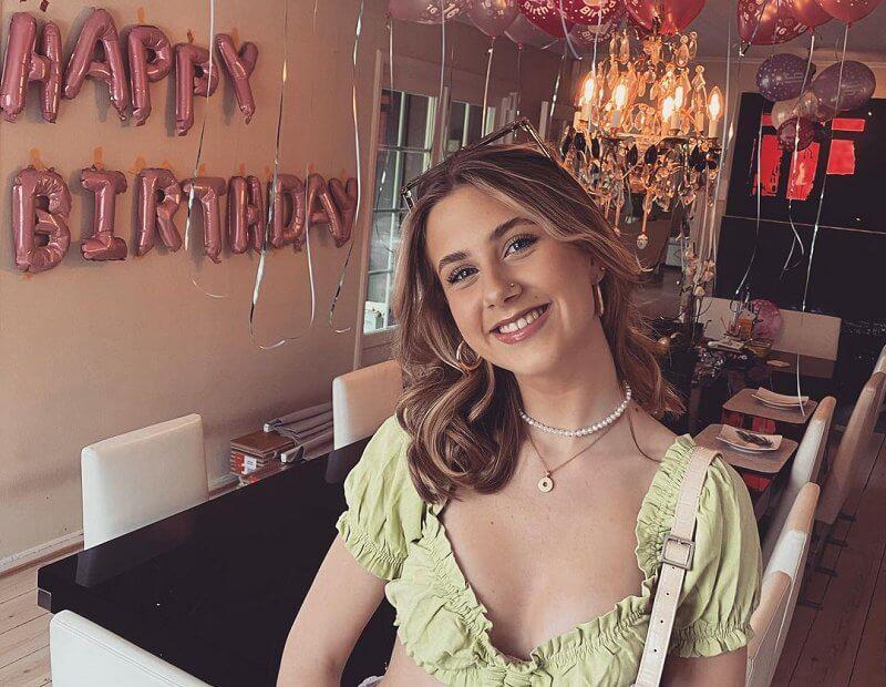 Leah Isadora Behn, the daughter of Norwegian Princess Martha Louise, celebrates her 16th birthday