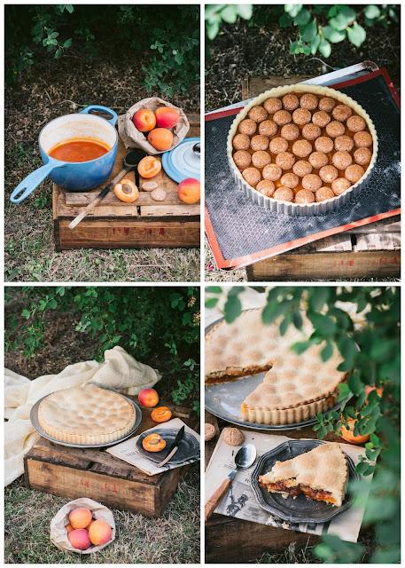 Tarte aux abricots et amaretti, préparation