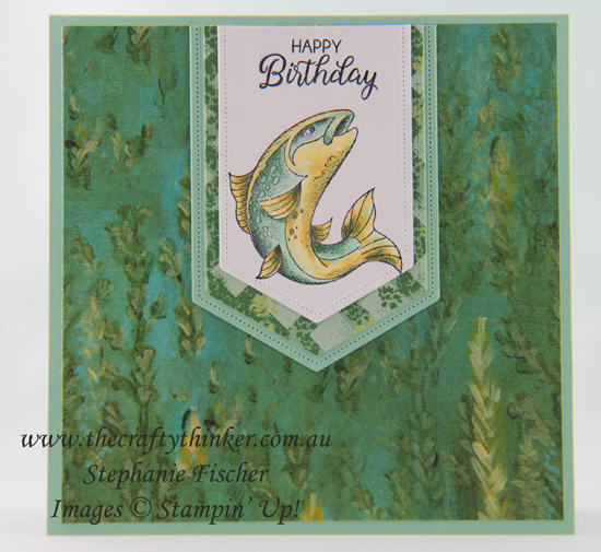 #thecraftythinker #stampinup #cardmaking #bestcatch #masculinecard #rubberstamping , Best Catch, Perennial Essence, Masculine Card, Stampin' Up Australia Demonstrator, Stephanie Fischer, Sydney NSW