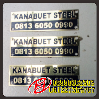 CUSTOM PLAT LABEL | PLAT LABEL WARNA EMAS | LABEL PLAT WARNA SILVER