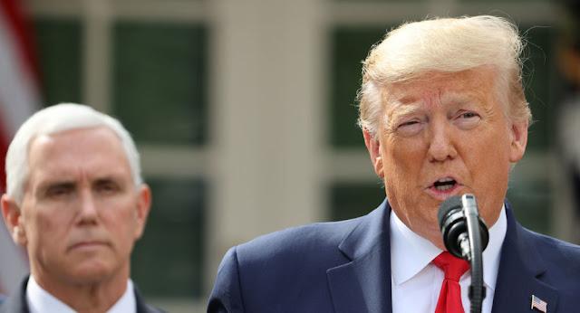 ترامب: أمريكا وكندا تنسقان جهودهما لمكافحة كورونا