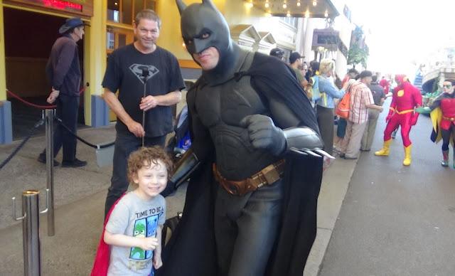 Batman at Movie World