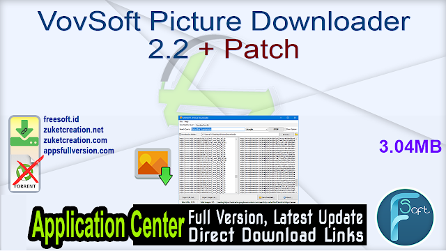 VovSoft Picture Downloader 2.2 + Patch
