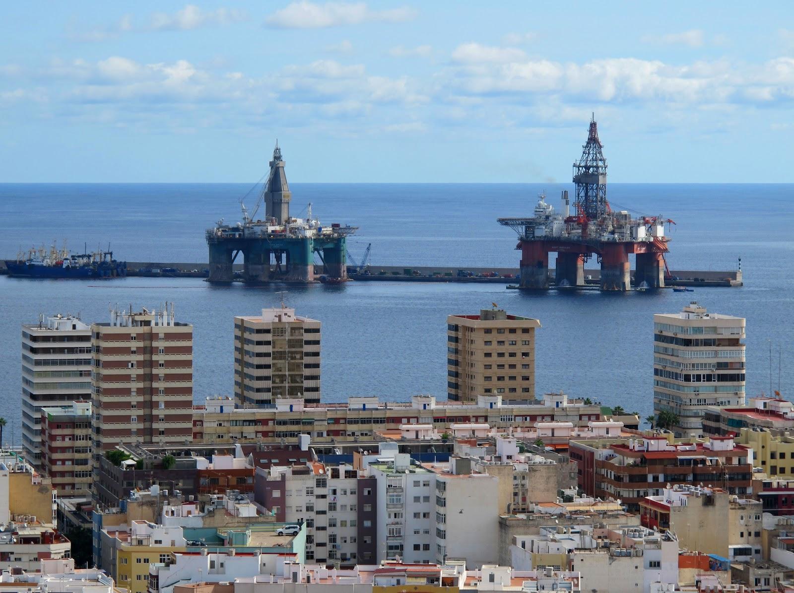 Capacidad plena de la industria naval de Gran Canaria para la reparación de plataformas de todo el Atlántico