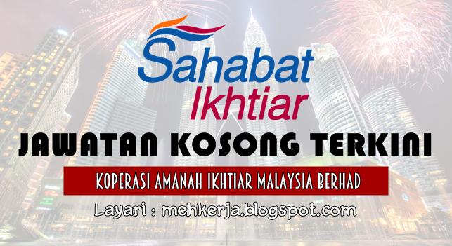 Jawatan Kosong Terkini 2016 di Koperasi Amanah Ikhtiar Malaysia Berhad