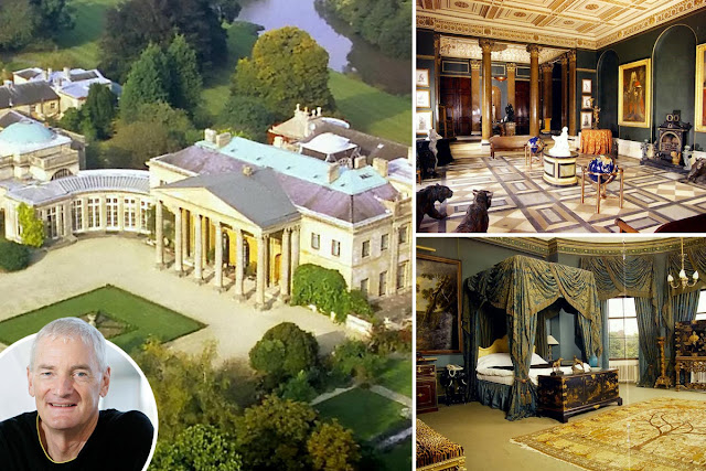Pictures of billionaire Sir James Dyson's massive Mansion that is big enough to fit about 18,000 homes