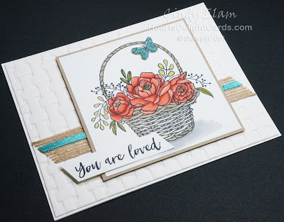 Blossoming Basket, Heart's Delight Cards, Stampin' Up!, Sale-A-Bration