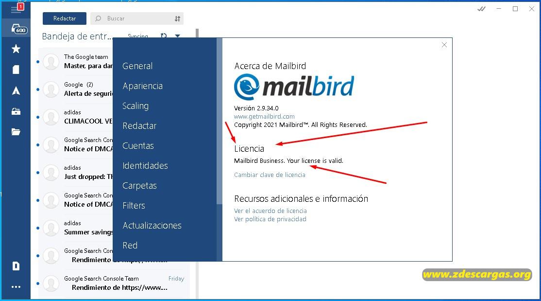Mailbird PC Full Español