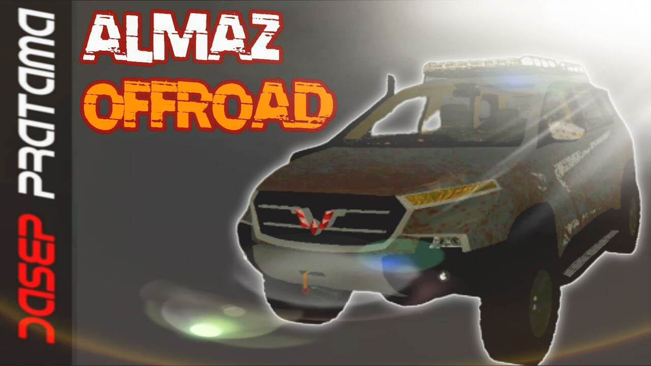 Mod Bussid Wuling Almaz Offroad