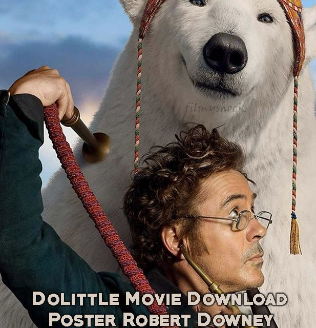 Dollitle Movie Poster 2020 Download HD free