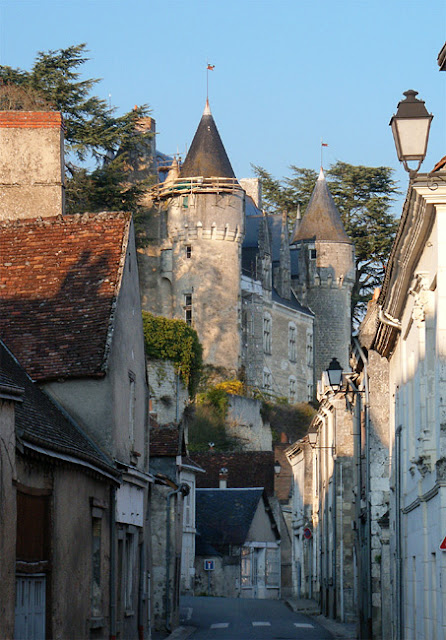 Montresor.  Indre et Loire, France. Photographed by Susan Walter. Tour the Loire Valley with a classic car and a private guide.