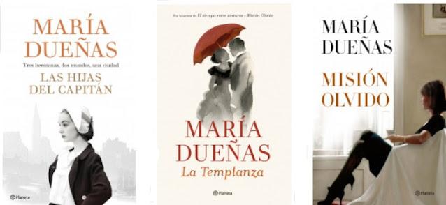 novelas de María Dueñas