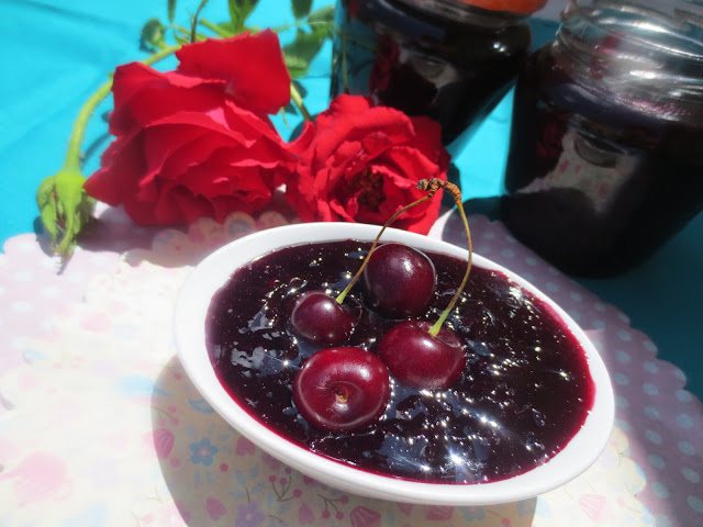 Mermelada de cerezas Thermomix