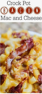 Crock Pot Bacon Macaroni and Cheese