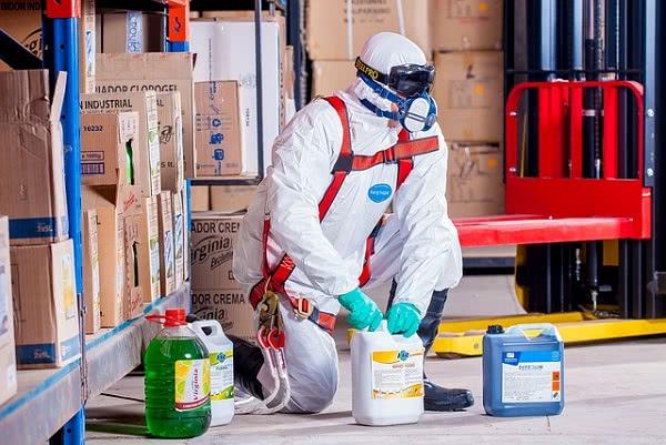 Đồng phục chống hóa chất