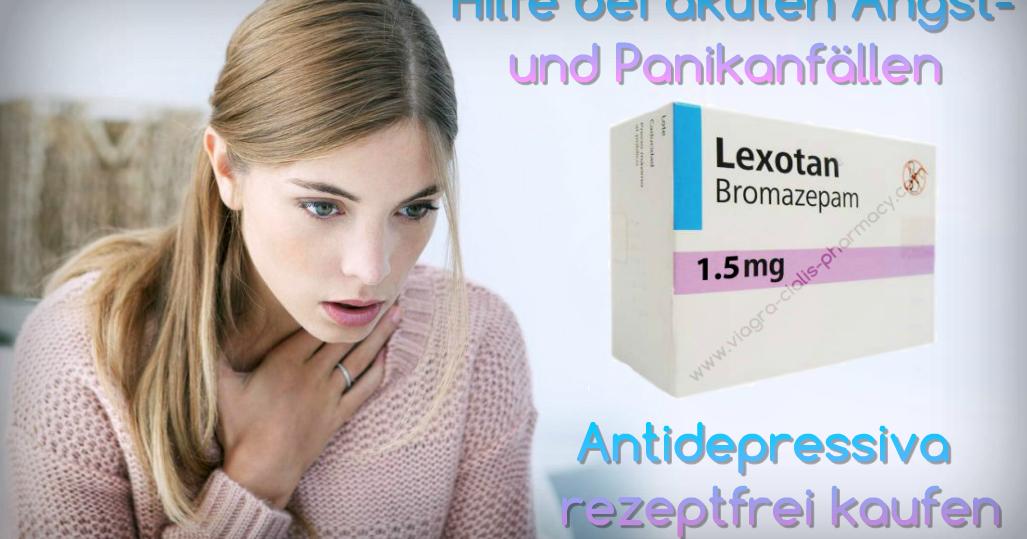 Antidepressiva rezeptfrei bestellen