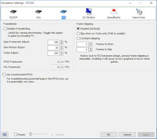 Cara Setting PCSX2 Agar Tidak Lag, FPS 50-60