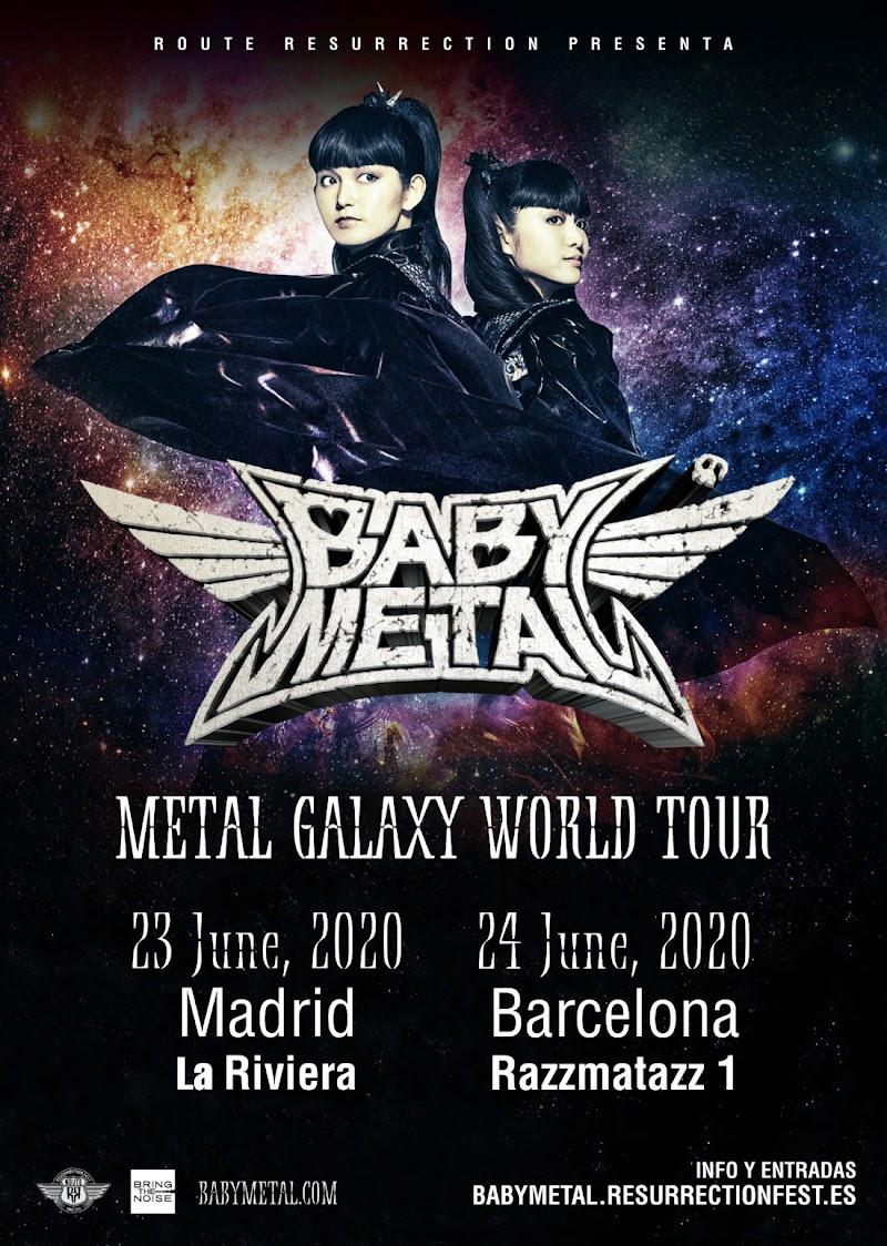 [CANCELADO] ¡BABYMETAL de concierto en España!