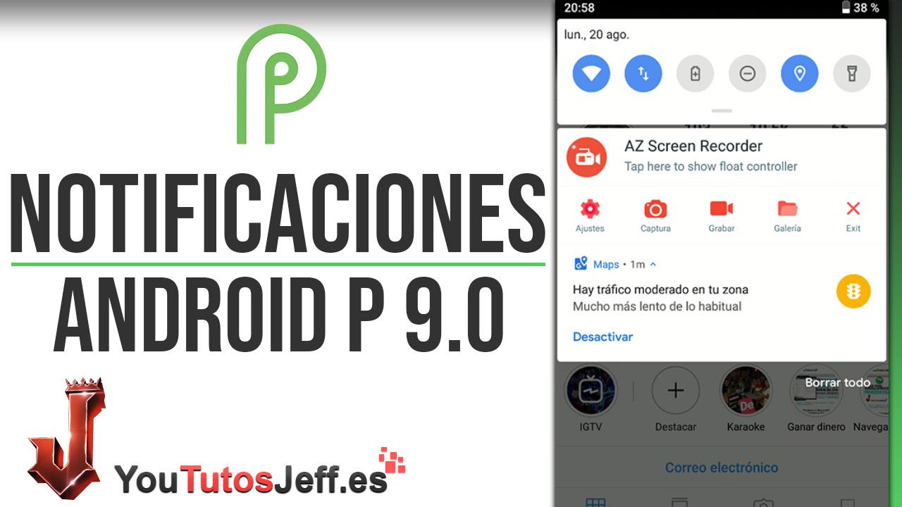 Descargar Barra Notificaciones Android P 9.0 en Cualquier Teléfono