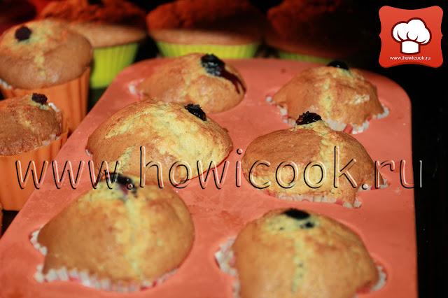 рецепт вкусных капкейков с ежевикой с пошаговыми фото