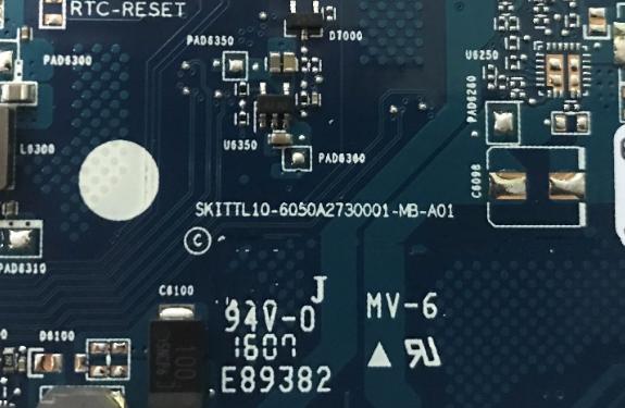 6050A2730001-MB-A01 U4701 HP 14 SKITTL10 Laptop Bios