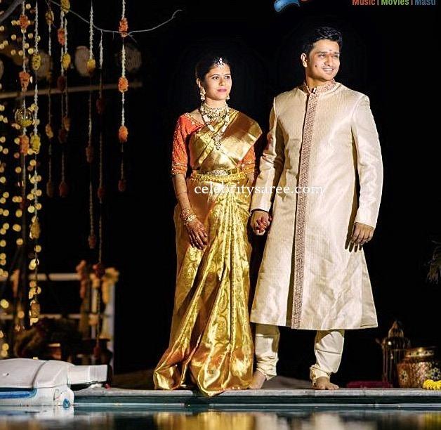 Actor Nikhil and Dr Pallavi Varam Wedding