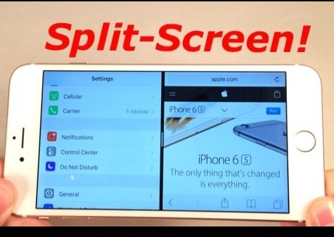 how to split your screen