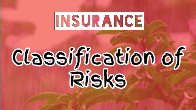 Classification of Risks in Insurance