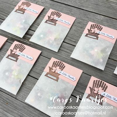 Stampin' Up! producten zijn verkrijgbaar via Caro's Kaartjes; carooskaartjes@hotmail.nl - ook voor vragen, advies en workshopafspraken!