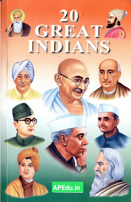 TWENTY GREAT INDIANS HISTORY.