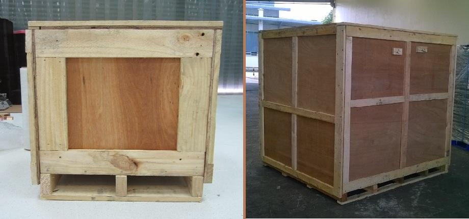 kiện gỗ kín