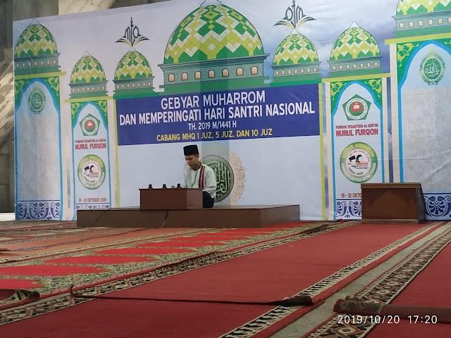 Hari Santri : Anamfal Kedua Kalinya Mengikuti Lomba Tahfiz 5 Juz Tingkat Jabodetabek-Jawa Barat