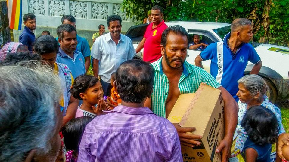 Image result for palitha thewarapperuma in flood