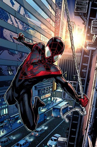 Miles Morales se convirtió en Spiderman en el universo Ultimate