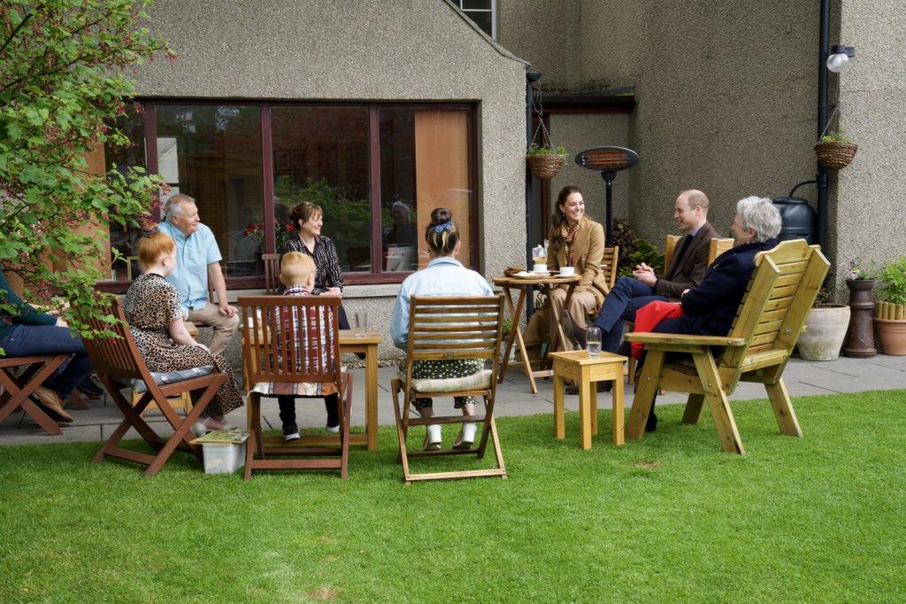 Oficjalna wizyta w Szkocji - Dzień V