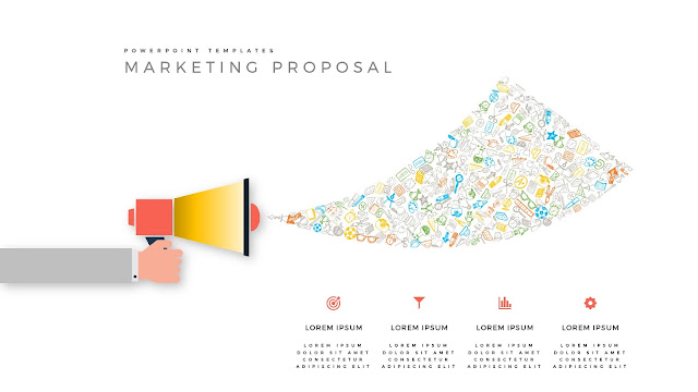 Marketing Proposal using Megaphone for PowerPoint Templates Slide 2