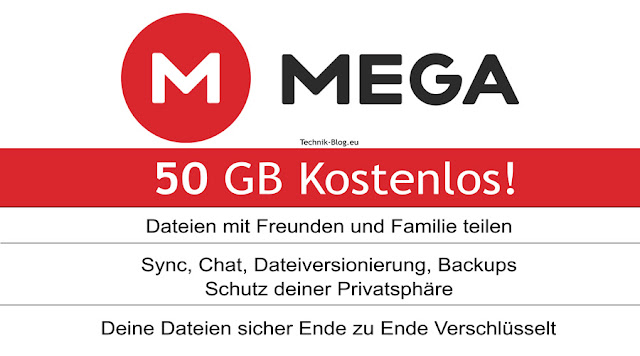 Mega.nz 50 GB Free Account